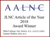 AALNC Article of the Year Award 2018